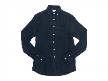 maillot sunset linen B.D. shirts NAVY