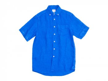 maillot sunset linen B.D. S/S shirts BLUE