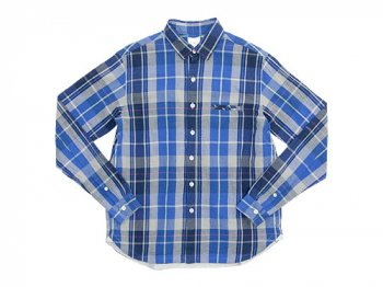 maillot C/L check shirts BLUE