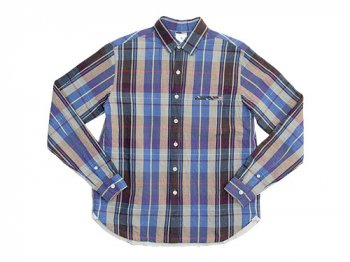 maillot C/L check shirts BEIGE