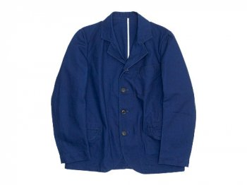 maillot b.label duck coverall jacket INDIGO BLUE