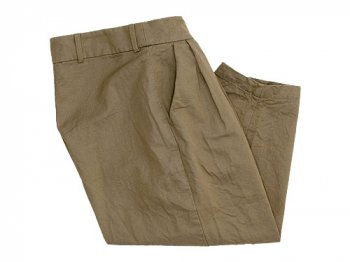 ordinary fits TUCK CHINO PANTS BEIGE