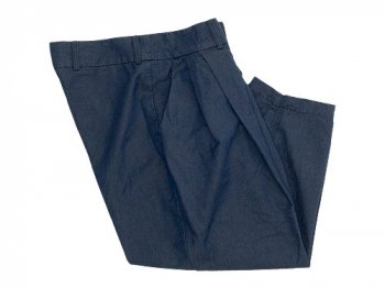 ordinary fits TUCK CHINO PANTS NAVY