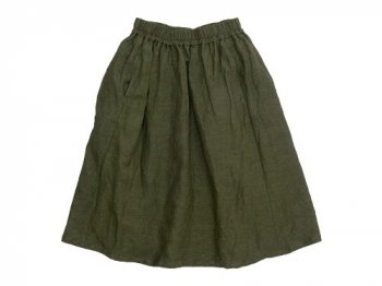 ordinary fits GATHER SKIRT KHAKI