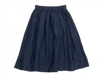 ordinary fits GATHER SKIRT NAVY