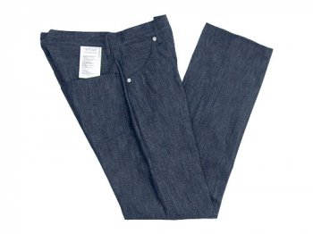 TUKI duck tail pants 01indigo