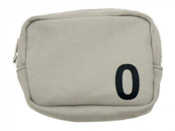 MHL. HEAVY CANVAS POUCH 0 020GRAY
