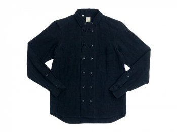 TATAMIZE DOUBLE BRESTED SHIRTS BLACK