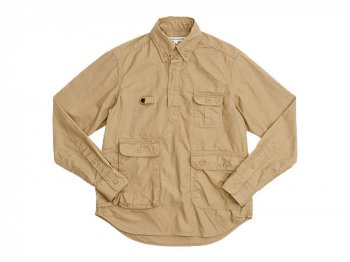DAILY WARDROBE INDUSTRY TRAVELER'S SHIRT PULL BEIGE