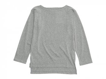Le minor by DAILY WARDROBE INDUSTRY ボートネックカットソー THURSDAY(GRAY)