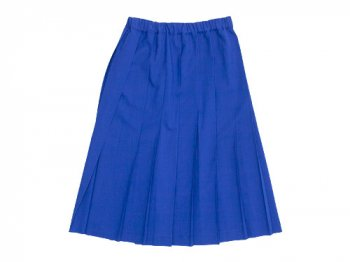 Charpentier de Vaisseau Pleated Skirt BLUE