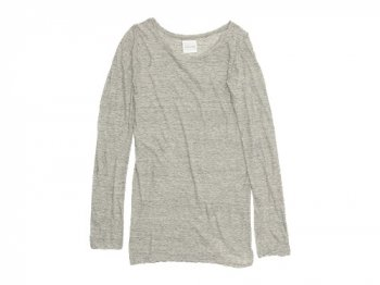 TOUJOURS Round Neck Shirt MEDIUM GRAY
