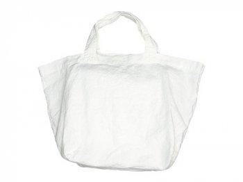 TOUJOURS Linen Marche Tote Bag OFF WHITE