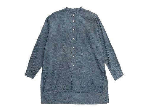 TOUJOURS Kurta Shirt GRAYSH INDIGO 【TM22SS08】