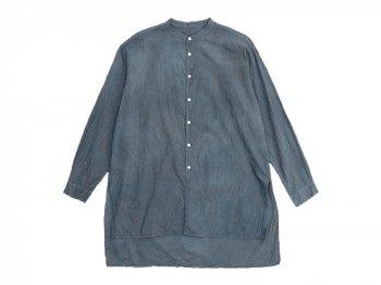 TOUJOURS Kurta Shirt GRAYSH INDIGO