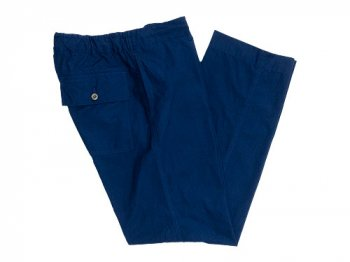 MHL. Fly Weight Cotton Pants 114NAVY〔メンズ〕