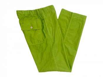 MHL. Fly Weight Cotton Pants 142GREEN〔メンズ〕