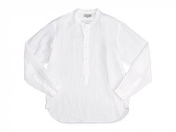 MARGARET HOWELL SHIRTING LINEN P/O SHIRTS 030WHITE 〔メンズ〕