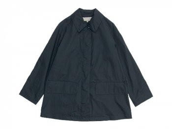 MARGARET HOWELL THIN COTTON TWILL COAT 023NAVY 〔レディース〕