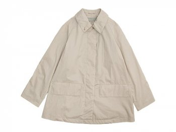 MARGARET HOWELL THIN COTTON TWILL COAT 041BEIGE 〔レディース〕