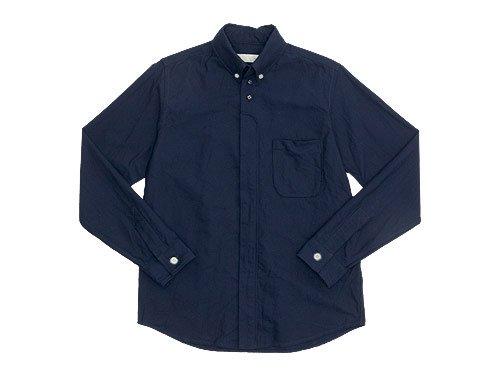 nisica ボタンダウンシャツ 長袖 / デッキマンシャツ 長袖