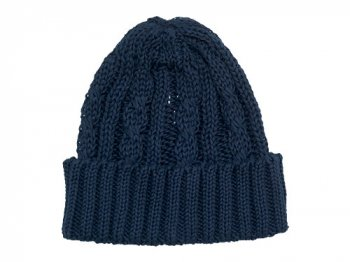 maillot cotton knit cap ダークネイビー