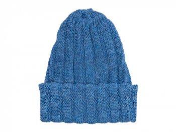 maillot linen knit cap ブルーネイビー