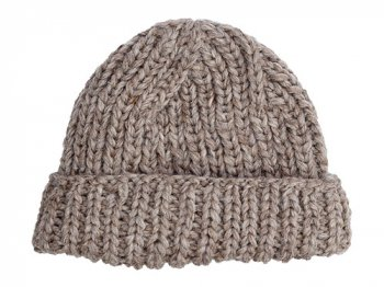 VICTORIA WOOLEN MILL PLAIN HAT GRAY