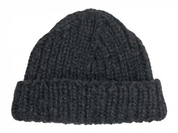 VICTORIA WOOLEN MILL PLAIN HAT CHARCOAL