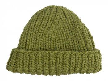 VICTORIA WOOLEN MILL PLAIN HAT OLIVE