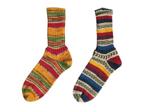 GRANGE CRAFT FAIR ISLE SOCKS