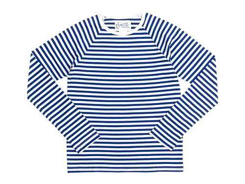 Charpentier de Vaisseau Middle Stripe Long Sleeve Tee BLUE x WHITE