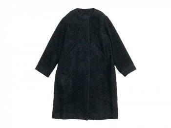 Lin francais d'antan Seurat(スーラ) No Collar Coat Wool&Alpaca