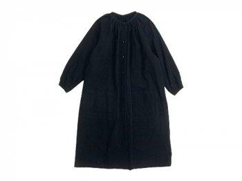 Lin francais d'antan Rousseau(ルソー) atelier coat BLACK