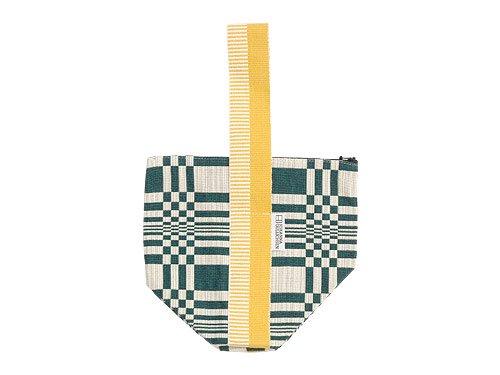 JOHANNA GULLICHSEN Tetra Handbag Doris DARK GREEN