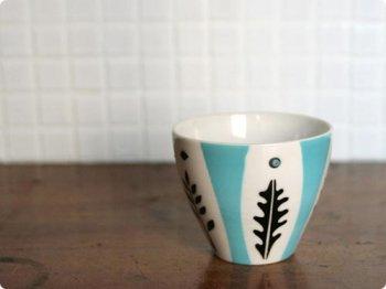 葉っぱのカップ