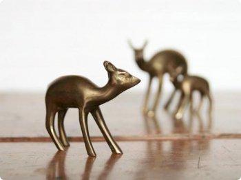 鹿のオブジェ M