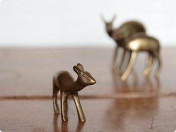 鹿のオブジェ S