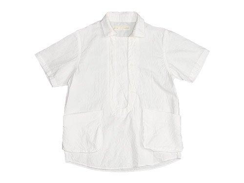 nisica 半袖プルオーバーシャツ / 半袖ボタンダウンシャツ