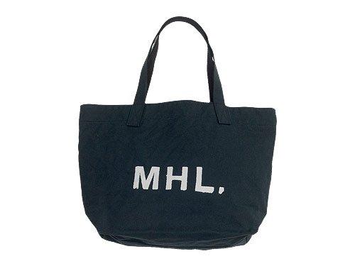 MHL. HEAVY CANVAS TOTE BAG / SHOULDER BAG / PVC ANKLE BOOTS