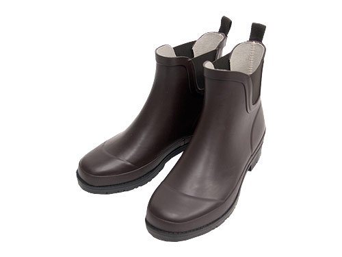 MHL. PVC ANKLE BOOTS 052BROWN 〔レディース〕