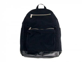 MARGARET HOWELL HIGH DENSE CORDURA DAYPACK 010BLACK