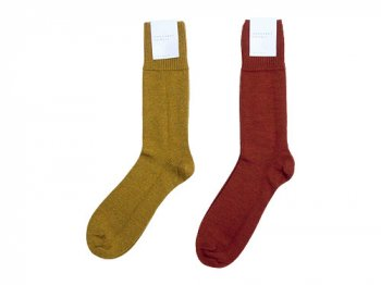 MARGARET HOWELL DEEP RIB  CLASSIC SOCKS 〔メンズ〕
