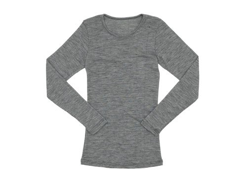 Tam Silk LONG SLEEVE GRAY