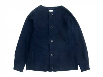 maillot melton work cardigan NAVY