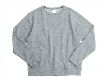 maillot ex fine wool sweat trainer GRAY