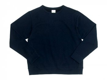 maillot ex fine wool sweat trainer NAVY