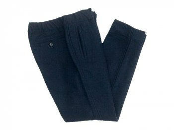 maillot wool easy pants NAVY