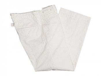 TOUJOURS Waist Overalls CREAM WHITE