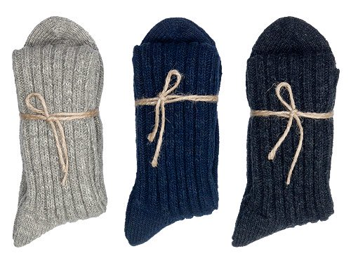 TOUJOURS Wool Cotton Mix Socks